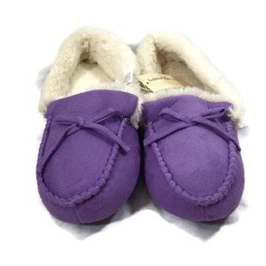 Ladies purple slippers Brand New With Tags